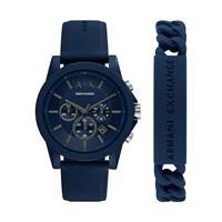 Armani Exchange Horloge sets AX7128, blauw, voor Heren, 4064092064773, EAN: AX7128