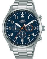 Lorus Chronografen RT365JX9, blauw, voor Heren, 4894138350481, EAN: RT365JX9