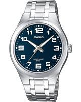 Casio Heren horloges  Collection MTP-1310PD-2BVEF, zilver, voor Heren, 4971850070504, EAN: MTP-1310PD-2BVEF