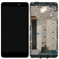 Xiaomi Redmi Note 4 Voorzijde Cover & LCD Display (Service pack) - Zwart