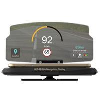 HUD Head Up Display Navigatie Standaard voor Smartphones - 6.5 - Zwart