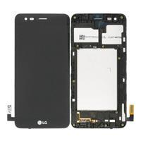LG K4 (2017) Voorzijde Cover & LCD Display - Zwart