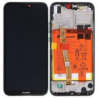 Huawei P20 Lite LCD Display (Service pack) 02351VPR - Zwart