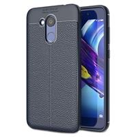 Huawei Honor 6C Pro Slim-Fit Premium TPU Case - Donkerblauw