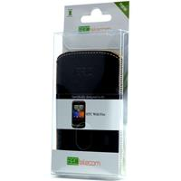 B2Ctelecom B2C Leather Case HTC Wildfire Washed Black