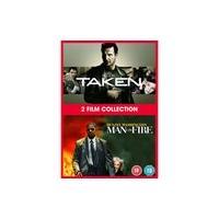 Taken/Man On Fire DVD