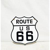Fiftiesstore Route 66 US Emaille Bord