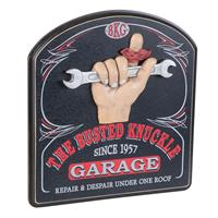 Fiftiesstore The Busted Knuckle Garage Wand Bord