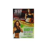 jillian michaels - double fitness pack - 30 day shred & banish fat boost metabolism DVD