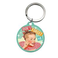Fiftiesstore Don't Forget Me Keychain