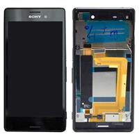 Sony Xperia M4 Aqua Dual Voorkant & LCD Display - Zwart