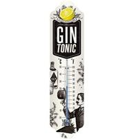 Fiftiesstore Gin Tonic Weather Thermometer