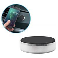 Multifunctionele Mini Magnetisch Smartphone Houder - Zilver