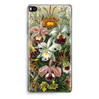 Huawei Ascend P8 Transparant Hoesje (Soft) - Haeckel Orchidae