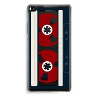 Huawei Ascend P8 Transparant Hoesje (Soft) - Here's your tape