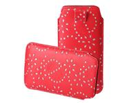 HTC Bling Sleeve voor  One m8s rood