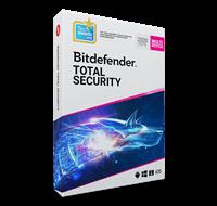 Bitdefender Total Security Multi-Device 2019 (5 apparaten, 1 Jaar)