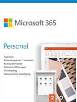 Microsoft 365 Personal | 1Gebruiker 1jaar