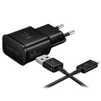 Samsung Fast USB-C-reislader EP-TA200EBE - Bulk - Zwart