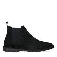 Sacha All black chelsea boots  - zwart