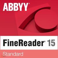 ABBYY FineReader 15 Standaard, 1 Gebruiker, WIN, Volledige versie, Downloaden