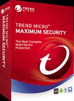 trendmicro Trend Micro Maximale beveiliging 2020 Multi Device, MAC Windows, Android, IOS 5 Apparaten 3 Jaar