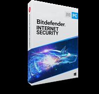 Bitdefender Internet Security 2020 volledige versie 5-Apparaten 2 Jaar