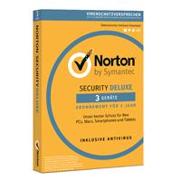 Symantec Norton Security Deluxe 3.0, [2019 editie]. 5 Apparaten 2 Jaar