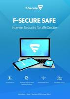 F-Secure Safe Internet Security 2020, download, volledige versie 10 apparaten 1 Jaar