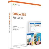 Microsoft Legitieme Office 365 Personal Multilanguage - 1 jaar ESD