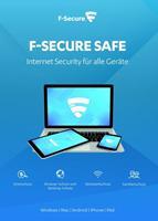 F-Secure Safe Internet Security 2020, download, volledige versie 2 Apparaten 2 Jaar