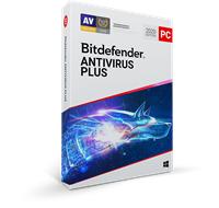 Bitdefender Antivirus Plus 2020, 3 jaar volledige versie 5 Apparaten