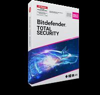Bitdefender Total Security 2020 volledige versie, Multi Device 10 apparaten 2 Jaar