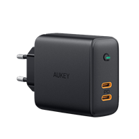 Google 2x USB-C Power Delivery lader Aukey - 36W