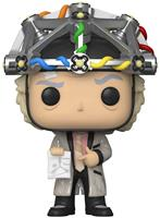 fiftiesstore Pop! Film: Back to the Future - Doc with helmet