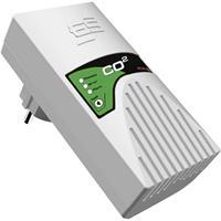 schabus 300257 Gasmelder werkt op het lichtnet Detectie van Kooldioxide
