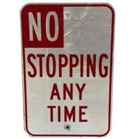 fiftiesstore No Stopping Any Time Straatbord - Origineel (2)
