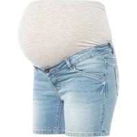Mama;licious mamalicious Zwangerschap shorts MLFONTANA Light Blue Denim