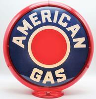 Fiftiesstore American Gas Red Dot Benzinepomp Bol