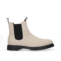 Sacha Off white suède chelsea boots  - wit