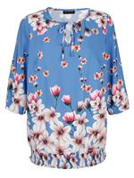 M. collection Blouse  Blauw