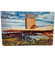 Fiftiesstore Las Vegas Sahara Metalen Bord 29.5 x 44.5 cm