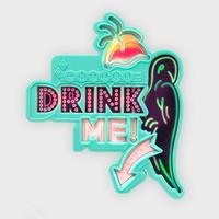 SUCK UK Flashing Drink Me Flestopper Parrot met Verlichting