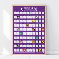 Gift Republic Leuke kraskaart poster voor de echte bordspelletjes fanaat!