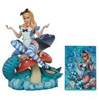 Fiftiesstore Fairytale Fantasies Alice in Wonderland Beeld Exclusieve Editie