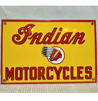 Fiftiesstore Indian Motorcycles Emaille Bord Rechthoek