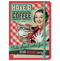Fiftiesstore Notitieboek Have A Coffee