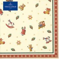 VILLEROY & BOCH Winter Specials Toy's - Servetten strooisel klein