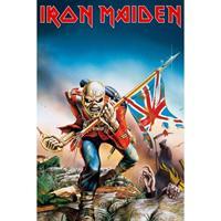 Merkloos Gbeye Iron Maiden Trooper Poster 61x91,5cm