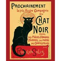 Pyramid Chat Noir Poster 40x50cm